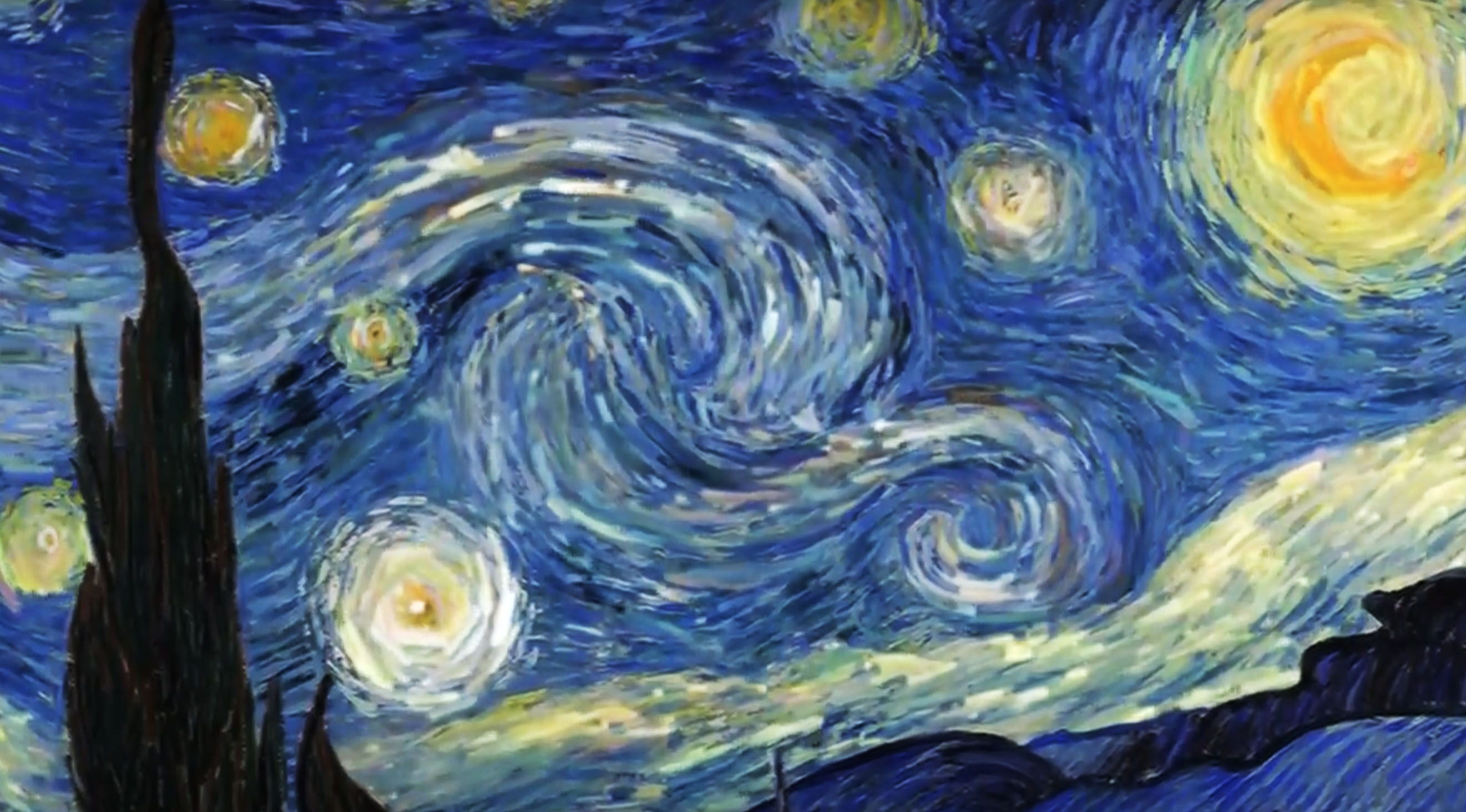 vincent (starry night by van gogh)